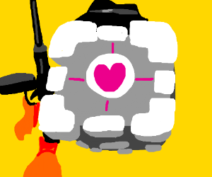 The Companion Cube should be taken seriously.