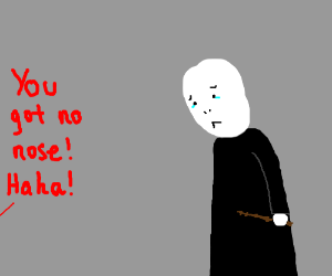 Voldemort is insulted