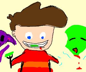Child-Eating Alien