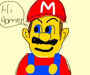 Yellow Mario