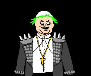 punk pope
