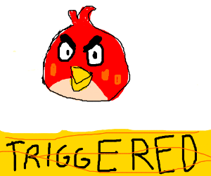 Triggered Angry Bird