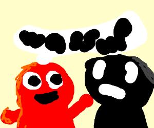 Elmo says waddup to yelmo