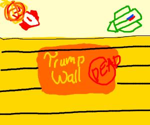 trump wall is dead