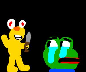 scary Yellmo will kill your memes