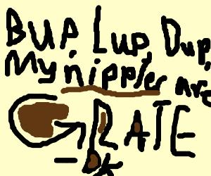 HE. (continue DK rap)