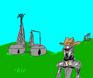 Fracking Cylons!