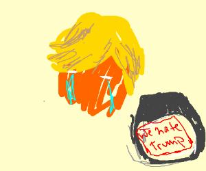 Crying Trump
