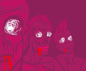 Punk Zombies of the Apocalypse