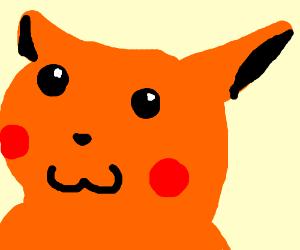 orange PIKACHU