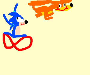Sonic and Tails!