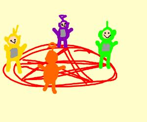 Teletubby cult.