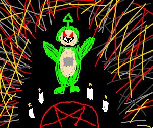 teletubbies summoning satan