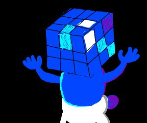 Rubiks cube smurf