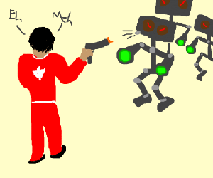 Apathetic Canadian fends off robot annexation