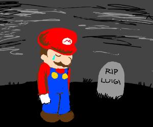Red Luigi Drawception