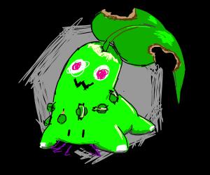 Mimikyu as Chikorita