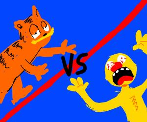Yellmo vs Garfielf