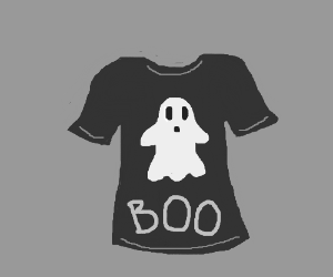 A ghostly t-shirt.
