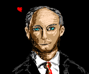Putin is in love