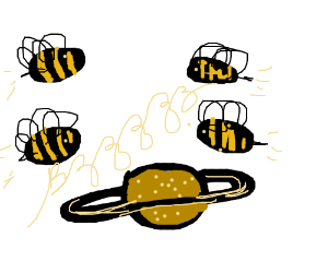 Bees in Space. Buzz!