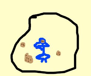 CookieMonsterIsSasBecauseHeFellInAHole