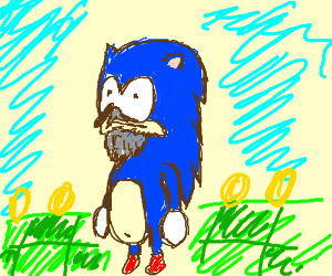 Senior citizen Sonic