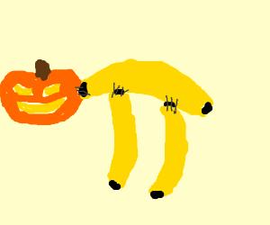 Jack-o-lantern/Banana Chimera