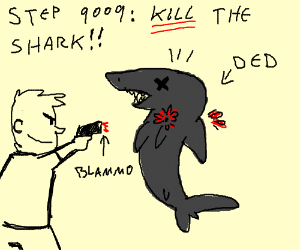 Step 9008: Sell The Shady Guy To A Shark