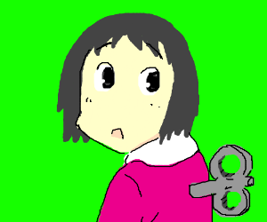 Chihiro from Spirited Away is a wind up doll