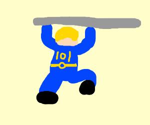 Pole Vault Boy