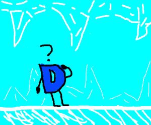 Drawception in ice cavern