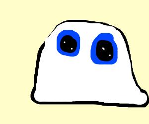A white blob. MEEP KAWAII OPPAIIIII