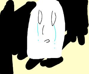 Truly sad ghost