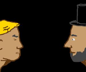 trump vs Abe Lincoln