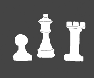 Queen, Pawn, & Rook