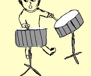 drum x2