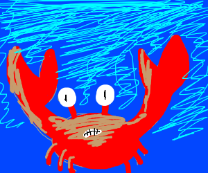 Crab gets a Tan