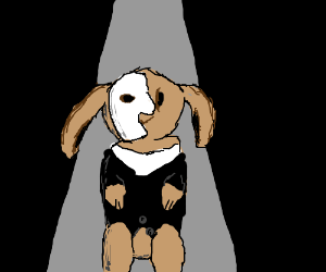Phantom Of The Opera bunny.