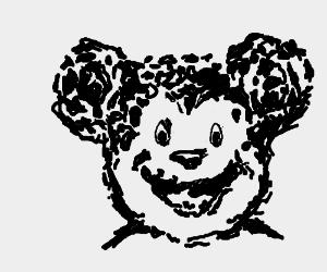 Mickey mouse inkblot