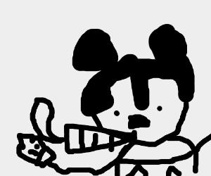 Mickey on crack
