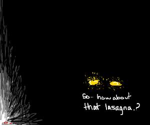 Gargas= Garfield+Giygas hybrid - Drawception