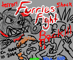 The furries fight back