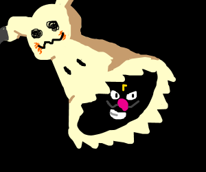 mimikyu rejected for being eldritch monster