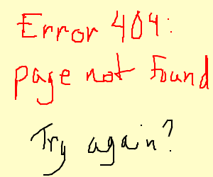 Error: page not found
