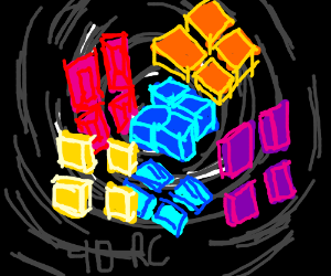 4 dimensional rubic's cube