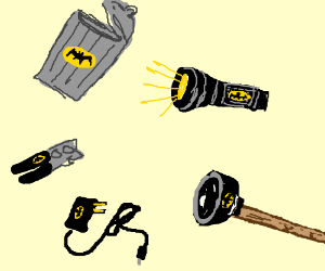 Useful Bat-items.