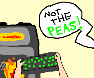 NOT THE PEAS