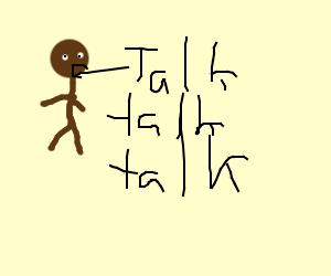 Talking black guy