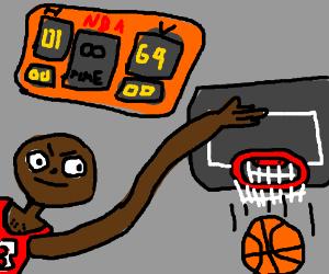 Infinite time in a basketball game = more fun.